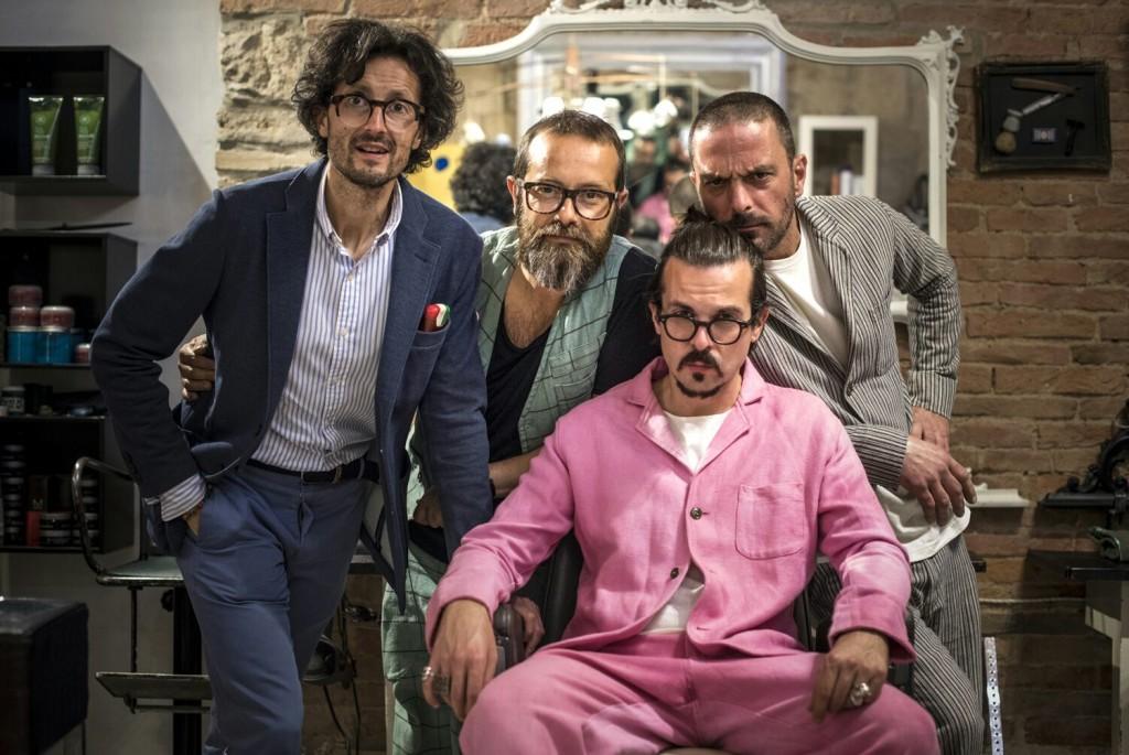 Augusto Titoni Vernissage in compagnia di Massimiliano Baldini, Enrico Pantani e Federico Minghi