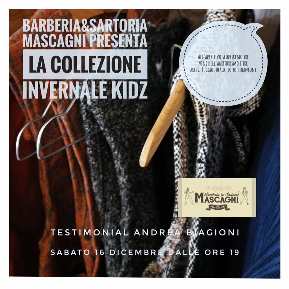 wear you are inverno, presentazione collezione invernale KIDZ con Andrea BIagioni
